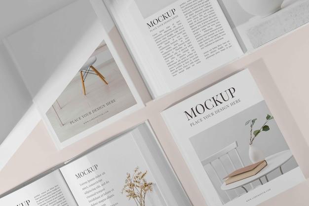 Composition de la couverture du livre maquette