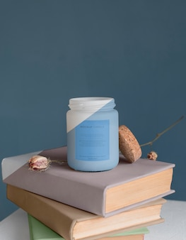 Composition de l'emballage de la bougie maquette