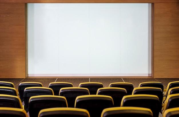 Concept de cinéma vide
