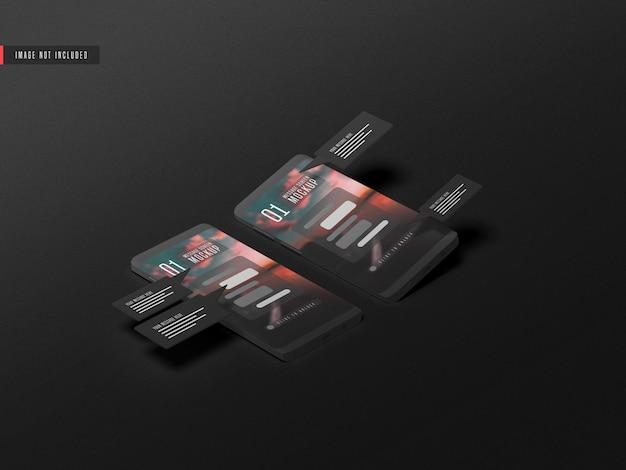 Concept De Conversation De Messagerie Sur La Maquette De Téléphone Mobile PSD Premium