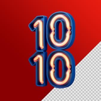 Concept créatif 10 10 jours de magasinage affichage de produits de podium de vente à prix réduit pour les médias sociaux instagram