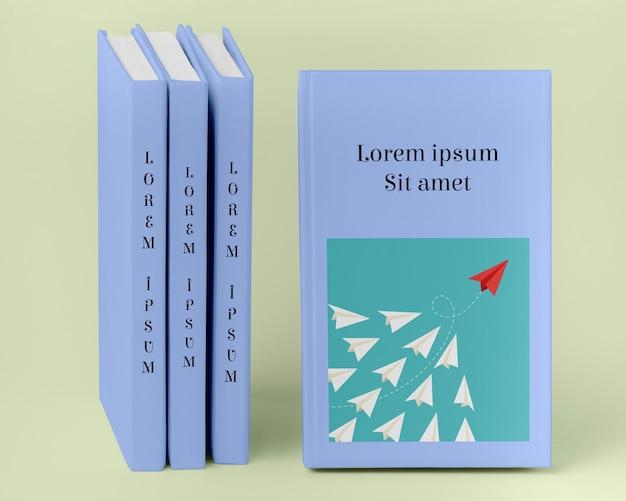 Concept d'entreprise d'arrangement de livres