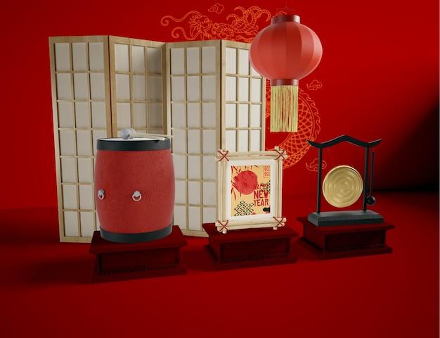 Concept d'illustration du nouvel an chinois
