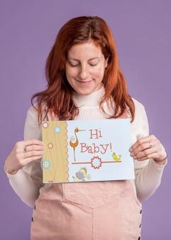 Concept de mère enceinte heureuse