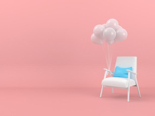 Concept De Pastel De Forme Géométrique Abstraite 3d PSD Premium