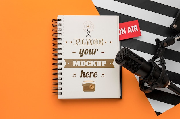 Concept radio avec maquette