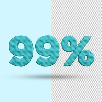 Concept de rendu 3d 99% de réduction premium psd premium psd