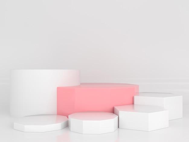 Concept De Style Moderne Minimal De Couleur Pastel De Forme Géométrique Abstraite PSD Premium