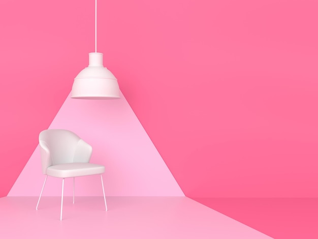 Concept de style moderne minimal de couleur pastel de forme géométrique abstraite
