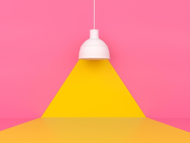 Concept de style moderne minimal de modèle de couleur pastel de forme géométrique abstraite