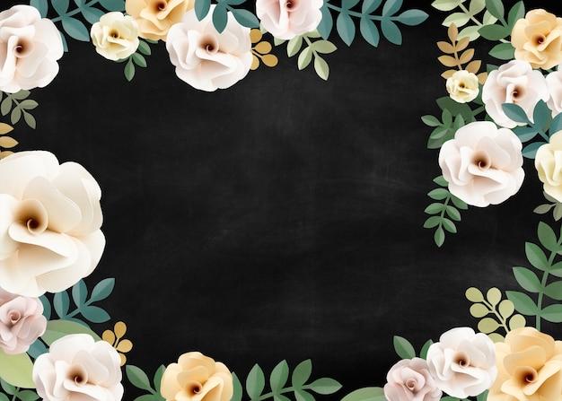 Concept de texture florale motif rose