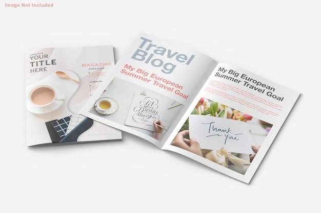 Conception de brochures et de maquettes de magazines