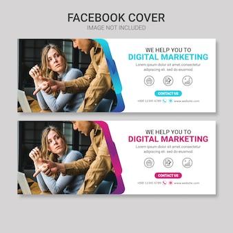 Conception de couverture facebook entreprise