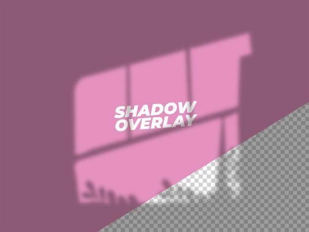 Conception d'effet de superposition d'ombre