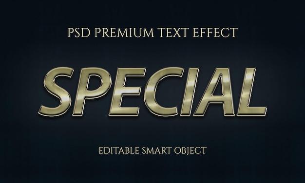 Conception d'effet de texte spécial