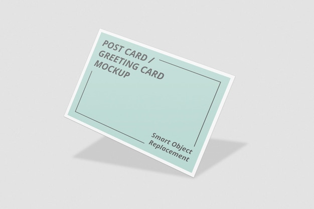 Conception élégante de maquette d'invitation ou de carte postale