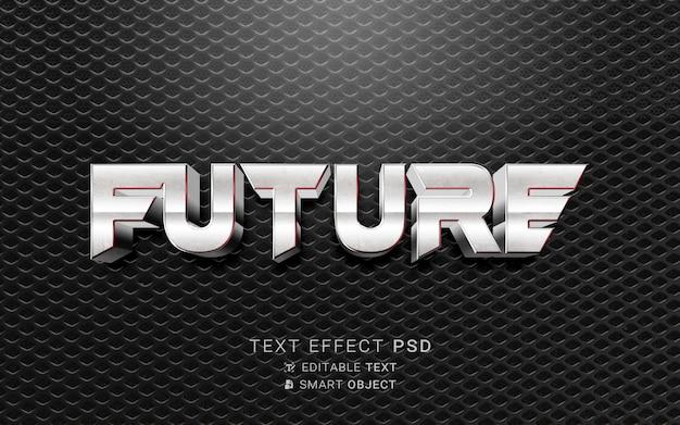 Conception future d'effet de texte
