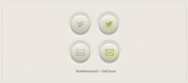 Conception icône du design des icônes photoshop douce