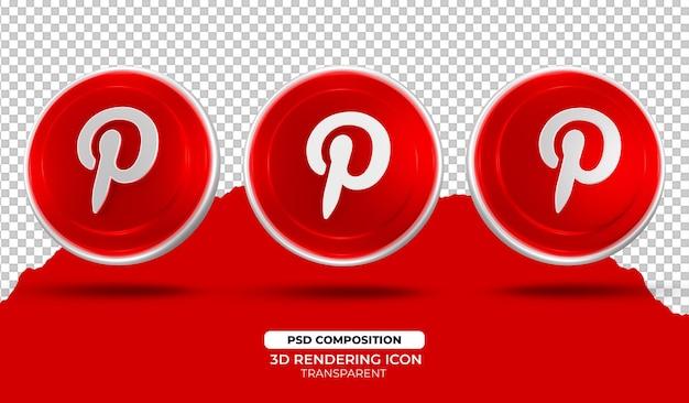 Conception d'icône de rendu 3d