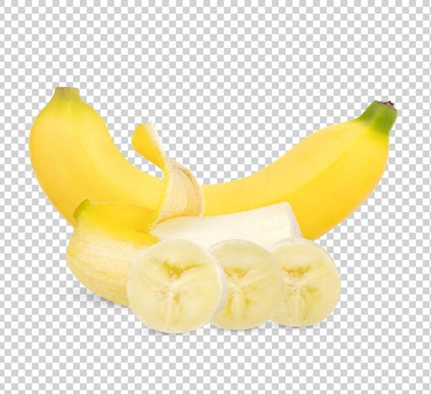 Conception isolée de banane fraîche