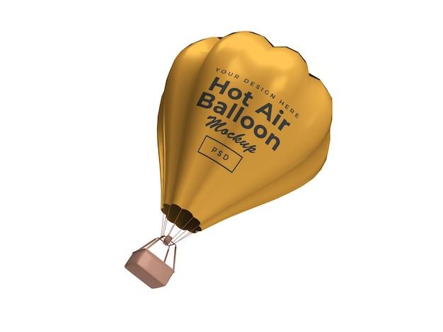 Conception de maquette 3d de ballon à air chaud