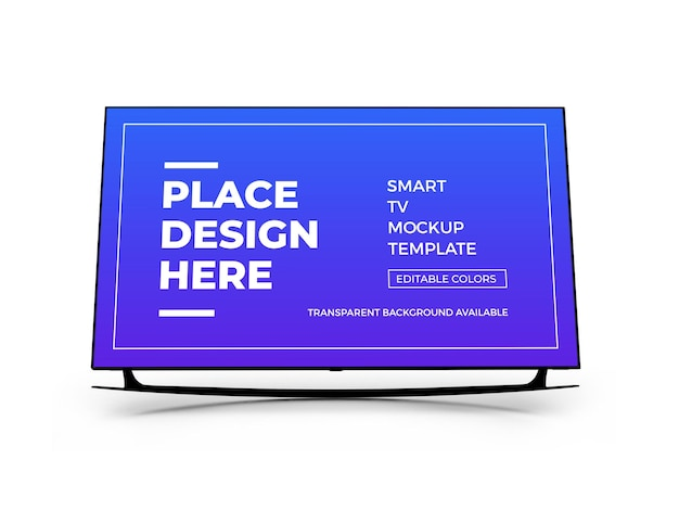 Conception de maquette 3d smart tv