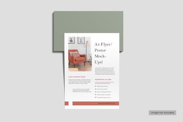 Conception de maquette d'affiche de flyer