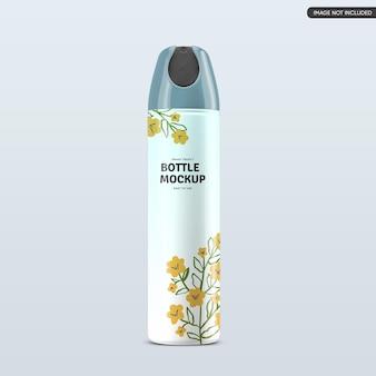 Conception de maquette de bouteille cosmétique en plastique