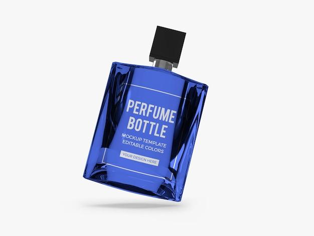 Conception de maquette de bouteille de parfum