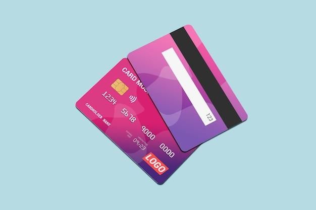 Conception de maquette de carte de débit isolée