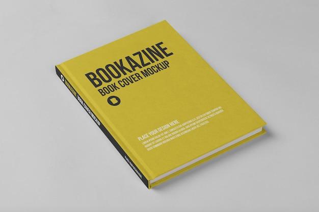 Conception de maquette de couverture de livre rigide
