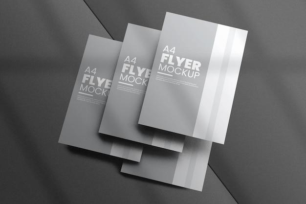 Conception de maquette de flyer créatif