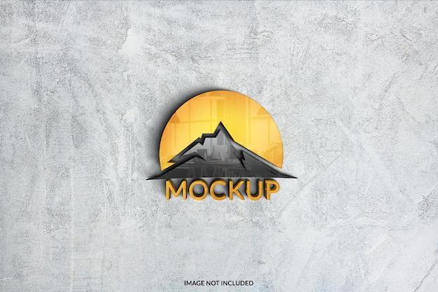 Conception de maquette de logo 3d