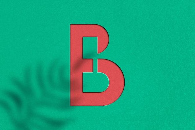 Conception de maquette de logo en relief en papier
