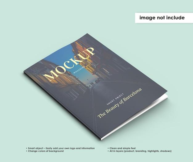 Conception De Maquette De Magazine Isolé PSD Premium