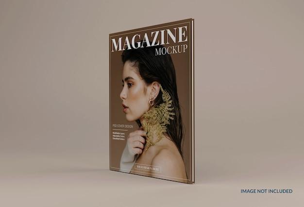 Conception de maquette de magazine moderne réaliste