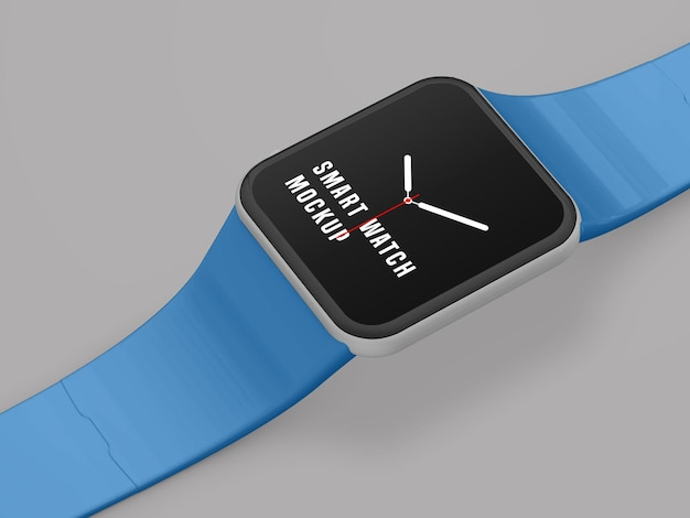 Conception de maquette de montre intelligente psd