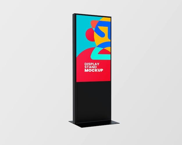 Conception de maquette de panneau d'affichage isolée
