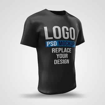 Conception de maquette de rendu 3d de t-shirt