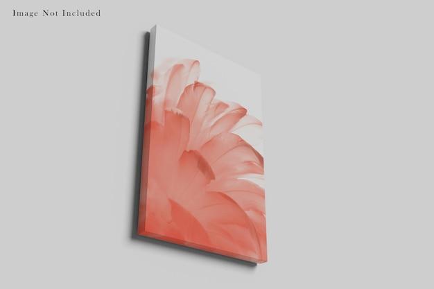 Conception de maquette de sac en papier isolée