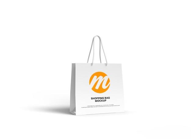Conception de maquette de sac à provisions ou de sac en papier haut de gamme