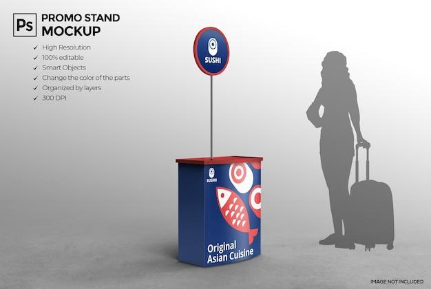 Conception de maquette de stand publicitaire