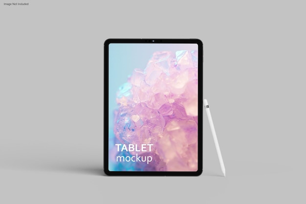 Conception de maquette de tablette en rendu 3d