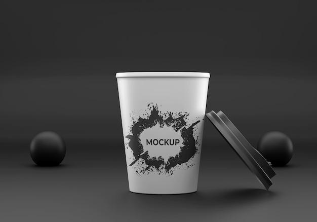 Conception de maquette de tasse