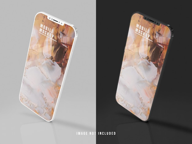 Conception De Maquette De Téléphone Portable Psd PSD Premium
