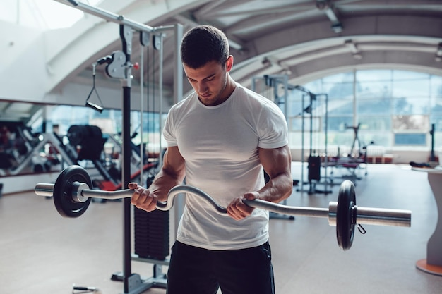 Conception de maquette de tshirt de débardeur de sport