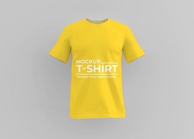 Conception de maquette de tshirt réaliste isolée