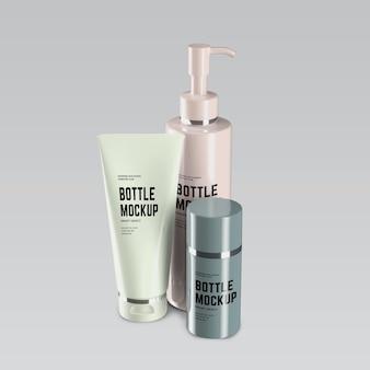 Conception de maquette de tubes cosmétiques