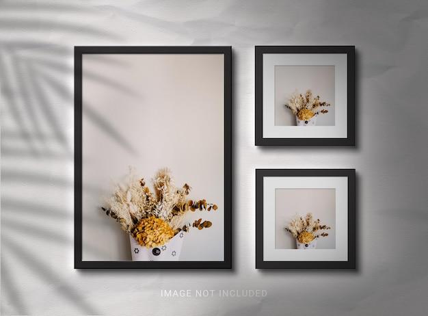 Conception de maquettes de cadre photo