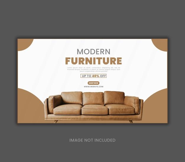 Conception de modèle social de mobilier minimal
